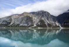 Reflexioner för berg för Alaska ` s Royaltyfri Foto