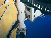 Reflexioner på La Fenice Royaltyfri Fotografi