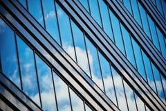 Reflexioner i Windows Royaltyfri Foto