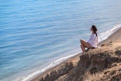 Reflexioner på havet Fotografering för Bildbyråer