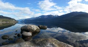 Reflexioner på laken Royaltyfria Foton