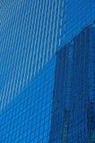 Reflexiones 4 de la ventana de la torre de la oficina Imagen de archivo