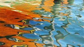 Reflexiones abstractas Imagen de archivo libre de regalías