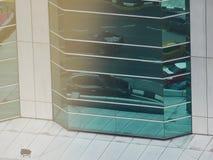 Reflexiones abstractas de edificios fotografía de archivo