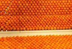 Reflexiones anaranjadas Foto de archivo libre de regalías