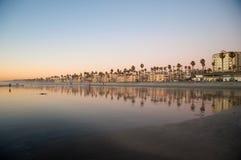Reflexiones costeras Fotos de archivo