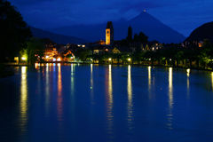 Reflexiones de Interlaken Imagen de archivo