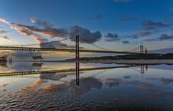 Reflexiones 2 de Lisboa Foto de archivo