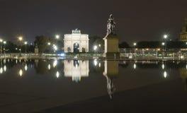 Reflexiones de París Fotos de archivo