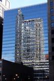 Reflexiones de Scape de la ciudad de Chicago Foto de archivo libre de regalías