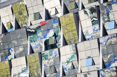 Reflexiones de Windows Fotografía de archivo libre de regalías