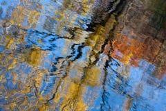 Reflexiones del árbol Imágenes de archivo libres de regalías