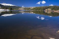 Reflexiones del lago Molas Imagen de archivo libre de regalías