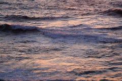 Reflexiones del océano en la puesta del sol #2 Imagen de archivo libre de regalías