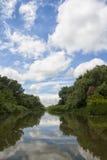 Reflexiones del río Fotos de archivo