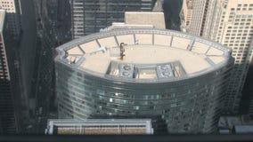 Reflexiones del rascacielos metrajes