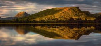 Reflexiones del temor del lago fotografía de archivo libre de regalías