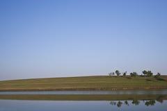 Reflexiones en agua Imagen de archivo