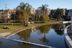 Reflexiones en el agua imagen de archivo