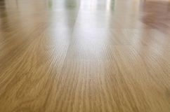 Reflexiones en el piso de madera Fotos de archivo