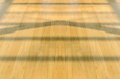 Reflexiones en el piso de madera Imagen de archivo libre de regalías