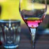 Reflexiones en el vino Fotos de archivo libres de regalías