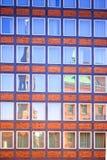 Reflexiones en hafencity Imagen de archivo libre de regalías