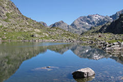 Reflexiones en la laca Roberto Fotografía de archivo