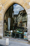 Reflexiones en la región de Perigord de Francia Imagen de archivo libre de regalías