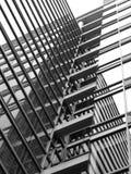 Reflexiones en vidrio Foto de archivo libre de regalías