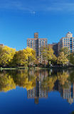 Reflexions in Central Park Royalty Free Stock Images