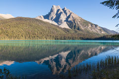 Reflexions in Emerald Lake Royalty Free Stock Photography