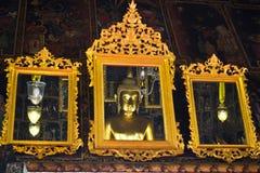 Reflexionsbuddha-Bild Lizenzfreie Stockfotos