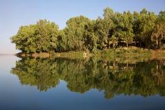 reflexionsflod Royaltyfria Foton
