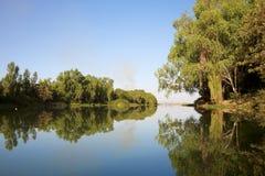 reflexionsflod Royaltyfri Fotografi