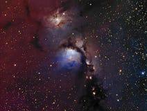 Reflexionsnebulosa M78 Royaltyfri Bild