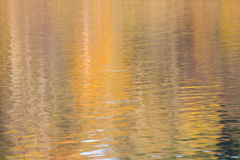 reflexionssunvatten arkivfoton