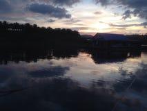 Reflexiv auf dem Wasser Lizenzfreie Stockfotografie