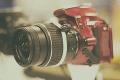 Reflexkamera Arkivfoton