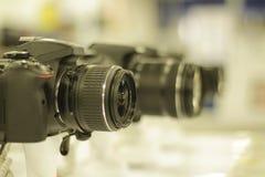 Reflexkameror Arkivbilder