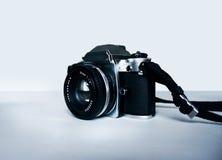Reflexo análogo histórico da câmera imagens de stock royalty free