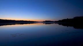 Reflexão da estrela de manhã Imagem de Stock