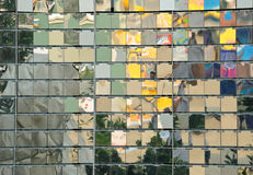 Reflexo da parede Imagens de Stock Royalty Free