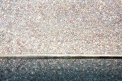 Reflexão da parede de tijolo Foto de Stock