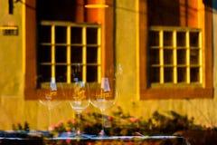 Reflexo da rua em Paraty Foto de Stock Royalty Free