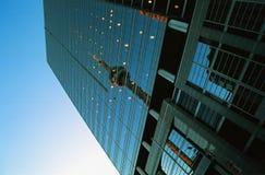 Reflexão da torre da NC Fotos de Stock