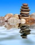 Reflexo de pedra imagens de stock royalty free