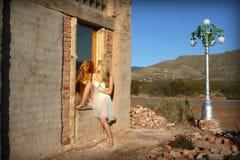 Reflexão do deserto Imagens de Stock Royalty Free