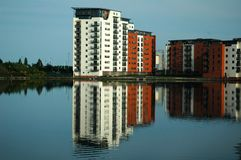Reflexão do edifício Imagem de Stock Royalty Free