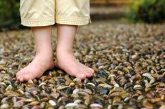 Reflexology del pie Fotografía de archivo libre de regalías